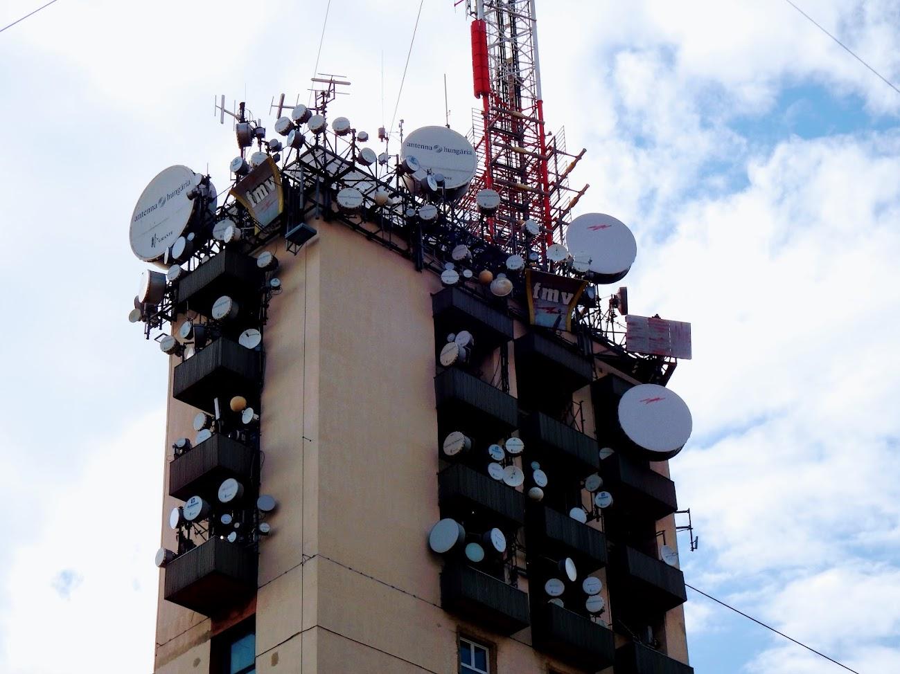 Budapest/Széchenyi-hegy - TV-URH gerincadó állomás