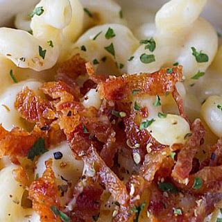 Creamy Pasta with Cheese and Bacon Recipe