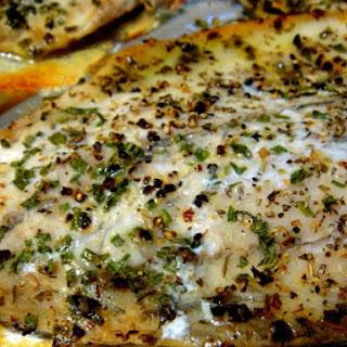 Easy peasy Baked Fish.