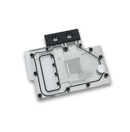 EK vannblokk for skjermkort, EK-FC 970 GTX - Nickel