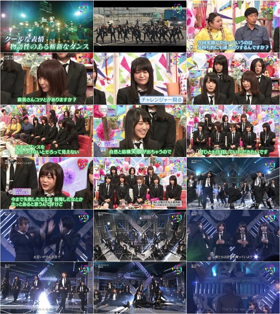 (TV-Music)(1080i) 欅坂46 Part – Shibuya Note 171021