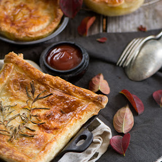 Chicken And Vegetable Pies.