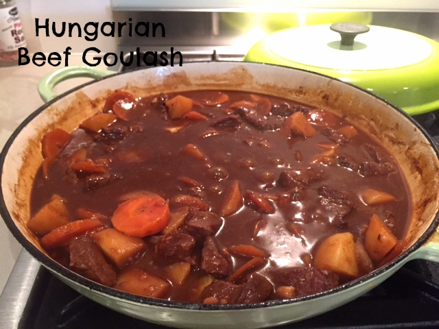 Hungarian Beef Goulash With Paprika Recipe — Dishmaps