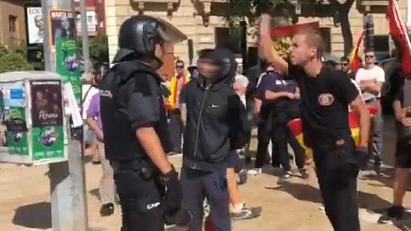 Manifestación de la Puerta Purchena de octubre