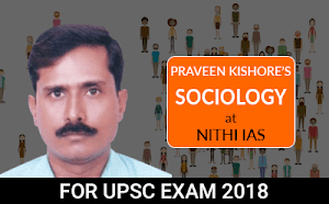 Praveen Kishore's Sociology Live Projector Classes from Hyderabad Learning Center for UPSC Mains