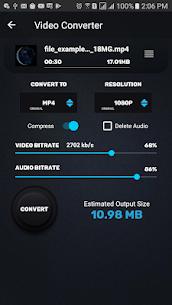 محول الفيديو، الضاغط MP4، 3GP، MKV، MOV، AVI، MTS 3