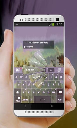 玩免費個人化APP|下載緑の砂丘 GO Keyboard app不用錢|硬是要APP