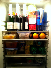 Photo: The times when our fridge was so happy.
