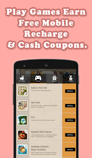 Free Mobile Recharge & Coupons- screenshot thumbnail