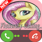 Fluttershy Little Pony call icon