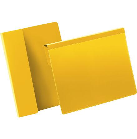 Pallficka A5L vikbar kant gul