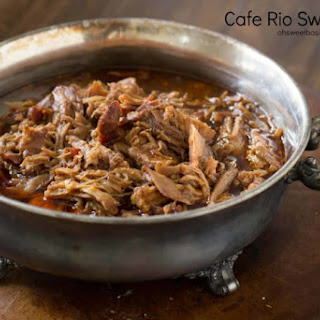 Cafe Rio Sweet Pork.