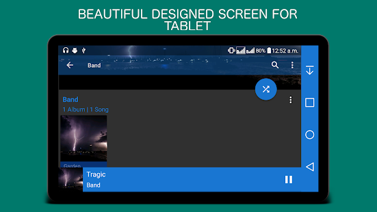 Mp3 Music Player Screenshot