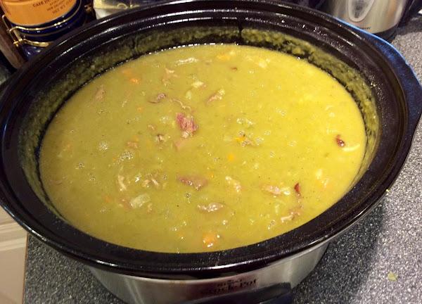 Split Pea Soup (crock Pot) Recipe