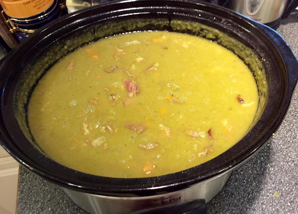 Split Pea Soup (crock Pot) Recipe