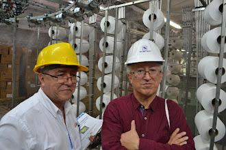 Photo: José Eddy Torres y Jorge Gil en TERMILENIO