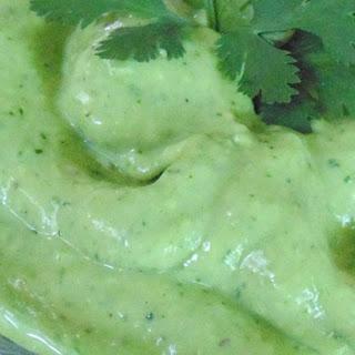 Cilantro-Avocado Chimichurri Sauce