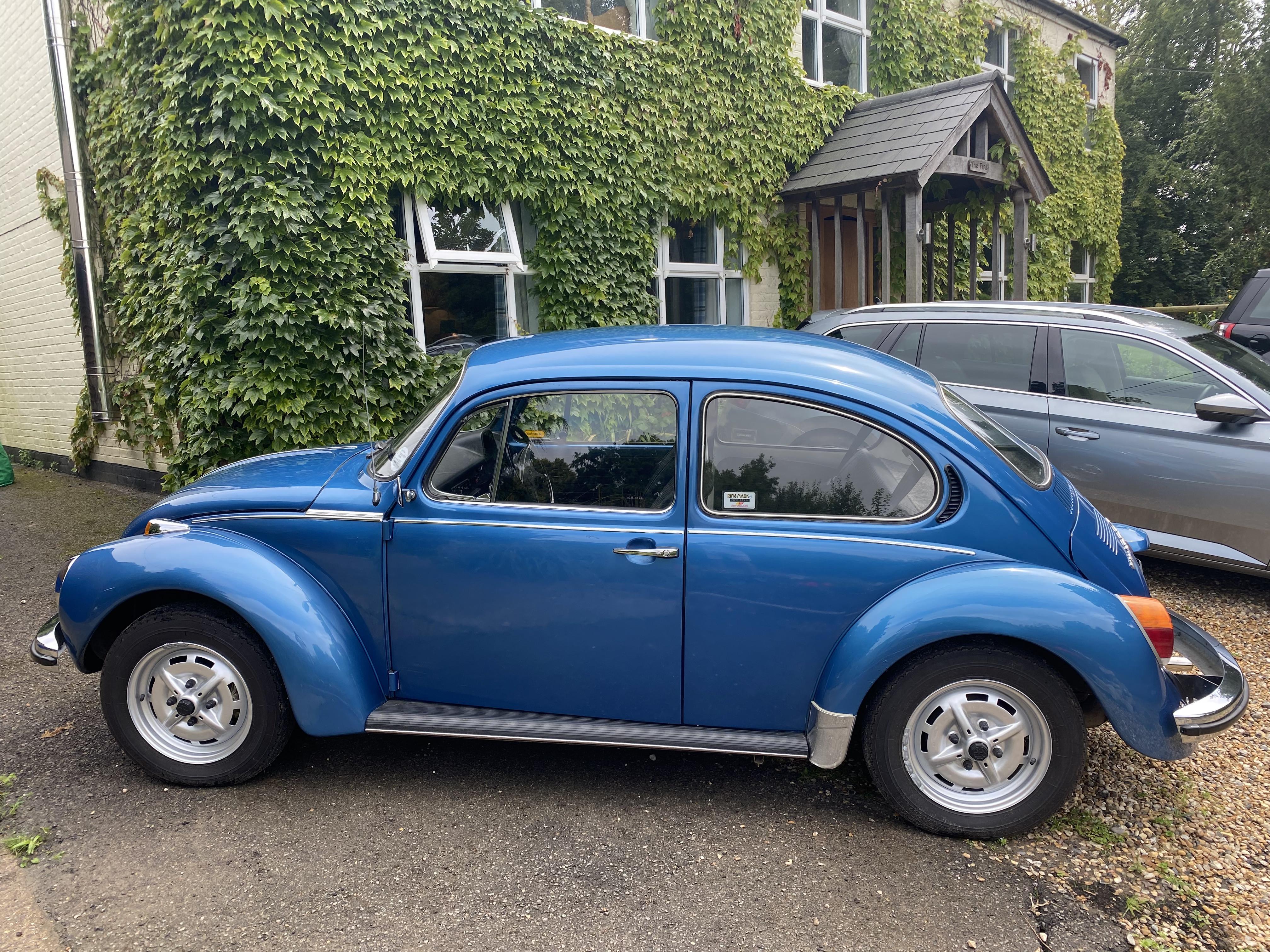 Volkswagen Beetle Hire Ash