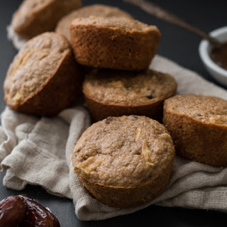 Apple-Date Oat Bran Muffins