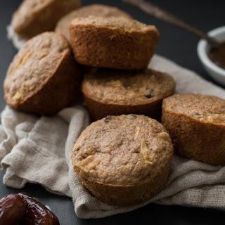 Apple-Date Oat Bran Muffins.
