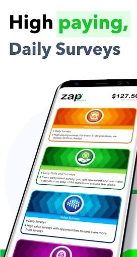 Zap Surveys - Earn Money and Gift Cards Apk 1