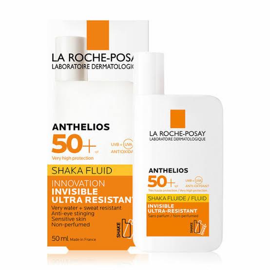 3. La Roche Posay Anthelios Shaka Fluid