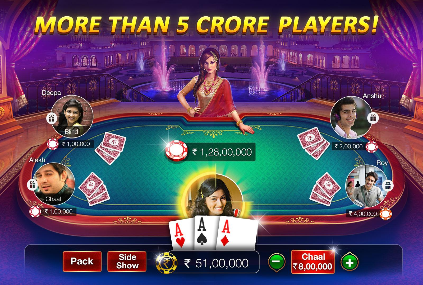 Teen Patti Gold Mod Apk (Unlimited Chips / Mod) Hack 1