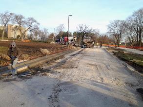 Photo: Curb Work 11-14-2013