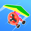 Road Glider - Incredible Flying Game icon