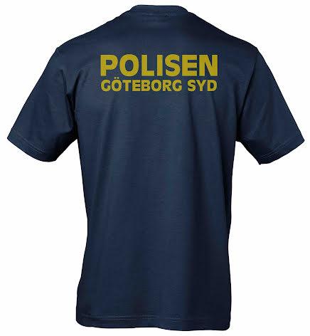 T-shirt bomull GÖTEBORG SYD