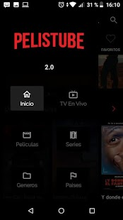 Pelistube: Peliculas y series en HD gratis Screenshot