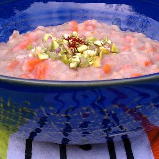 Slow Cooker Carrot Cardamom Oatmeal