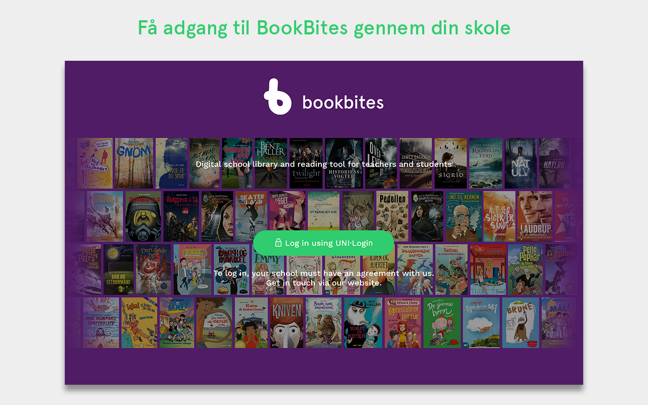 BookBites- screenshot