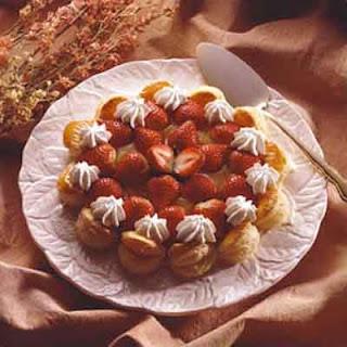 Puff Pastry Strawberry Lemon Tart.