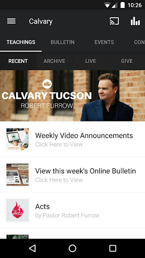 Calvary Tucson: Robert Furrow