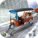 Tuk Tuk Driving Simulator 3D - Hill Drive Sim 2018 icon