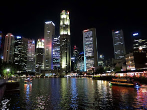 Photo: Singapore River, Boat  Quay and CBD district