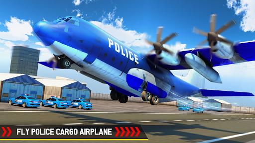 Cargo Airplane Police Vehicle Transporter 1.5 screenshots 2