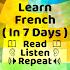 Learn French Speaking- Speak French Easily 14.0