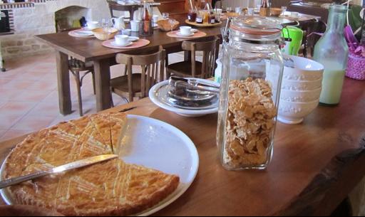 Desayuno en Charentes