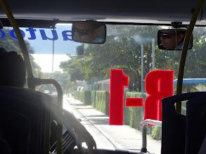 Photo: R-1 autobus nás veze na pláž