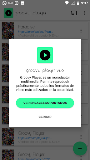 Groovy Player 1.3.8 screenshots 4