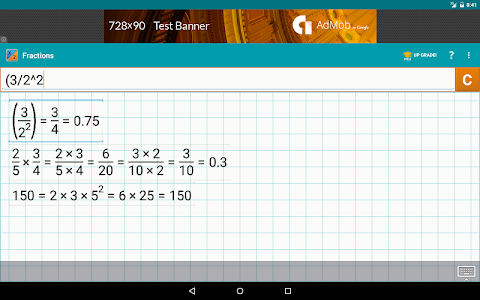 Fraction Calculator by Mathlab v2.0.30 (Pro)