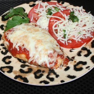 Healthy Grilled Chicken Parmesan