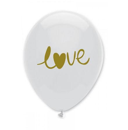 Ballonger Love - guld