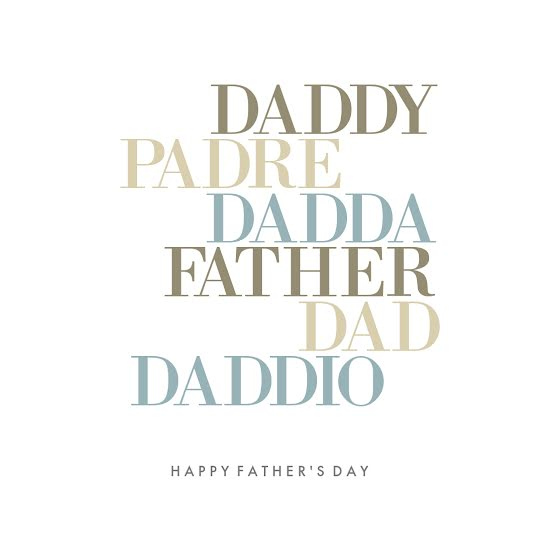 International Father's Day - Father's Day Template