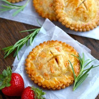 Ham & Havarti Hand Pies with Rosemary-Mustard Aioli