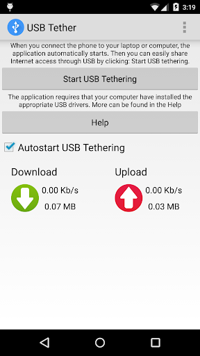 USB Tether