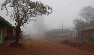Photo: Marsabit, con la nebbia