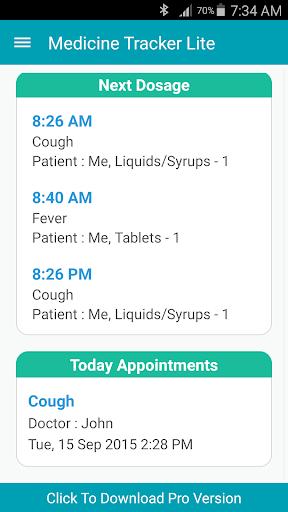 Medicine Tracker and Reminder